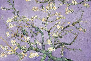 VINCENT VAN GOGH - purple blossom Poster / Kunst Poster