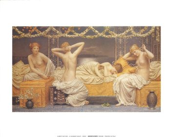 A Summer Night, 1890 Reproducere
