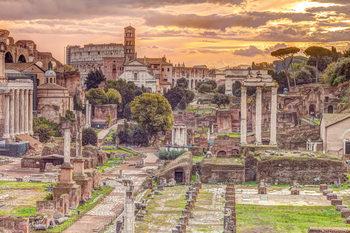 Assaf Frank -  Rome Poster