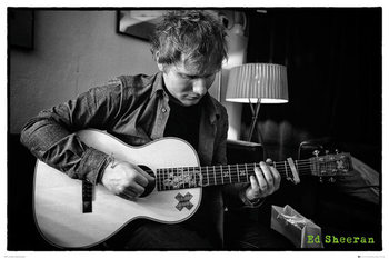 Ed Sheeran - Chord Poster