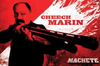 MACHETE - cheech Poster
