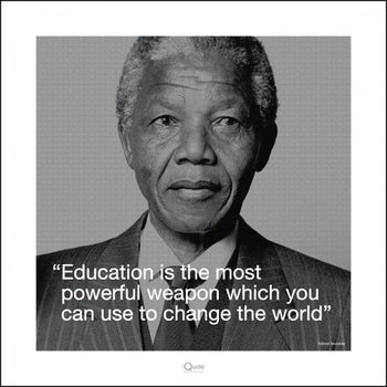 Nelson Mandela - Quote Reproducere