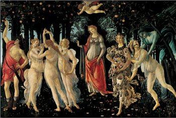 Primavera - The Allegory of Spring Reproducere