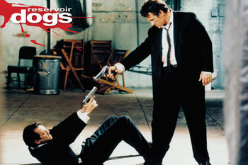 Reservoir Dogs - Guns Poster
