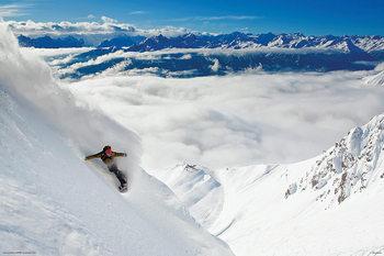 Snowboarding Poster