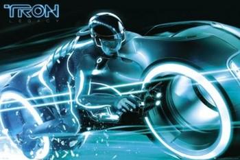 TRON - bike Poster