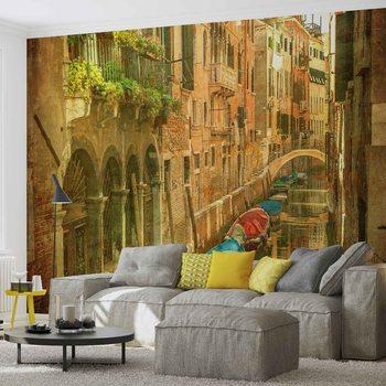 Canal de Venise de la ville Poster Mural XXL