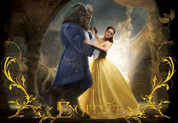 Disney Beauty and the Beast (11180) Poster Mural XXL