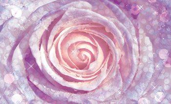 Fleurs Rose Nature Poster Mural XXL