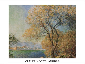 Antibes in the Morning - Morning at Antibes Poster