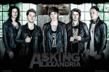 Poster Asking Alexandria - Window