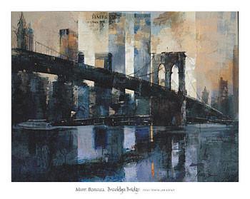 Brooklyn Bridge Kunstdruck