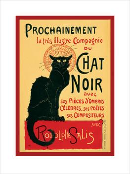 Chat Noir  Kunstdruck