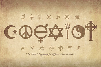 Poster Coexist - Maxi Poster