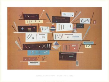 Composition 1940 Kunstdruck