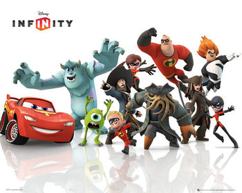 Poster Disney Infinity - Starter pack