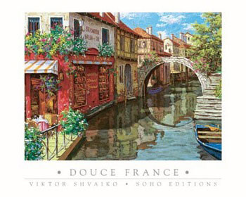 Poster Douce France