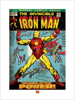 Iron Man  Kunstdruck
