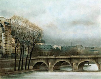 Poster Le Pont Neuf