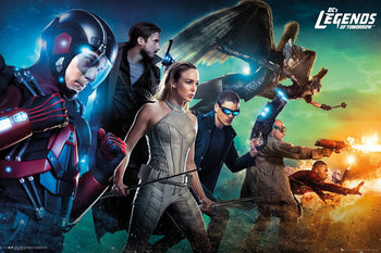 Poster Legends of Tomorrow - Team