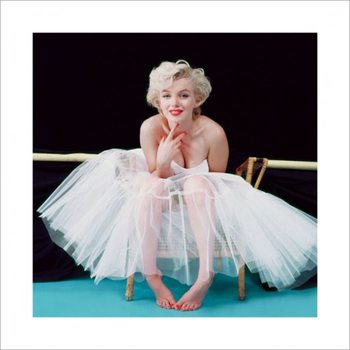 Poster Marilyn Monroe - Ballerina - Colour