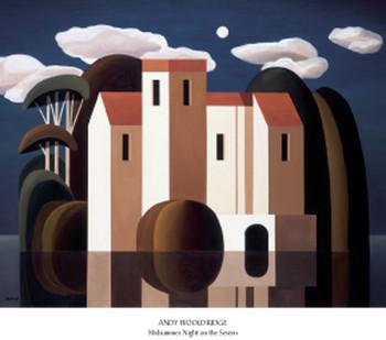 Poster Midsummer Night on the Severn
