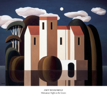 Midsummer Night on the Severn Kunstdruck