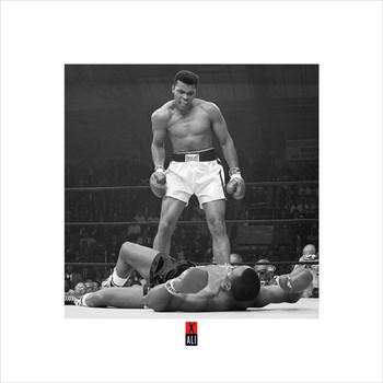 Muhammad Ali v Liston  Kunstdruck