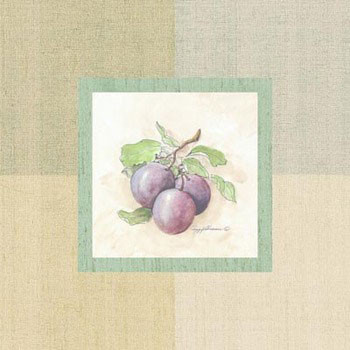 Plum Interior Kunstdruck
