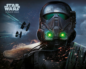 Poster Rogue One: Star Wars Story - Death Trooper Glow