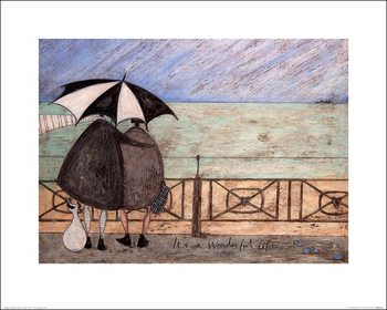 Sam Toft - It's a Wonderful Life Poster