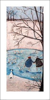 Sam Toft - Winter Kunstdruck