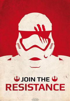 Poster Star Wars: Episode VII - Das Erwachen der Macht - Join the Resistance