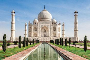 Poster Taj Mahal - Indien