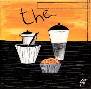 Tea (Thè) Kunstdruck