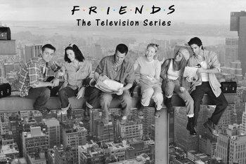 Poster Vänner - Friends - On Girder