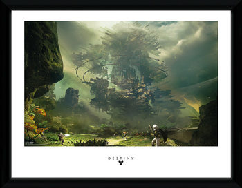 Destiny - The Fortress rám s plexisklem