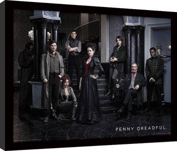 Penny Dreadful - Group zarámovaný plakát