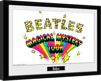 The Beatles - Magical Mystery Zarámovaný plagát