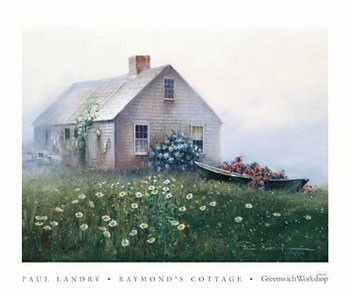 Raymond's Cottage Festmény reprodukció