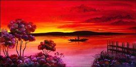 Red Africa 2 Festmény reprodukció