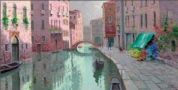 Rio di Santa Fosca, Venice Festmény reprodukció
