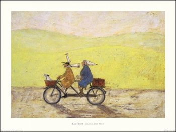 Sam Toft - Grand Day Out Festmény reprodukció