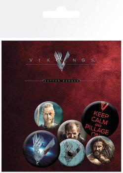 Set insigne Vikings - Mix