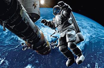 SPACE COWBOY - плакат (poster)