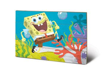 Poster su legno Spongebob - Sea Stroll