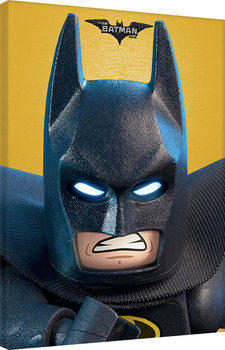 Stampa su Tela LEGO® Batman - Close Up