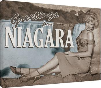 Stampa su Tela Marilyn Monroe - Niagara