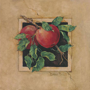 Apple Square - Stampe d'arte