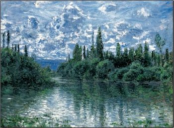 Arm of the Seine near Vetheuil - Stampe d'arte